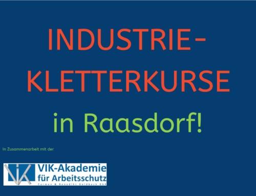 Industriekletterkurse wieder in Raasdorf!