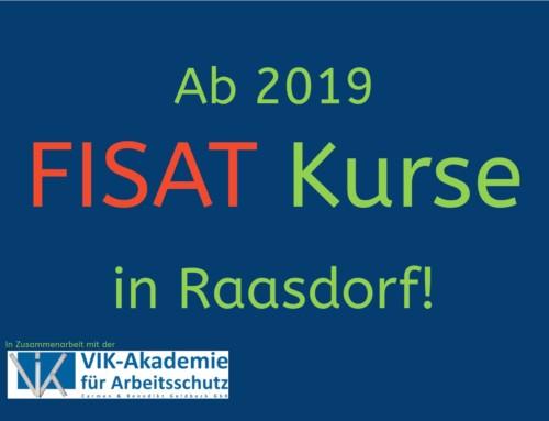 FISAT Kurse ab 2019 wieder in Raasdorf!