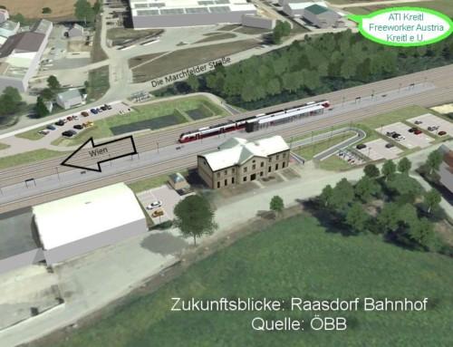 Vorsicht Baustelle: Raasdorf bekommt einen neuen Bahnhof